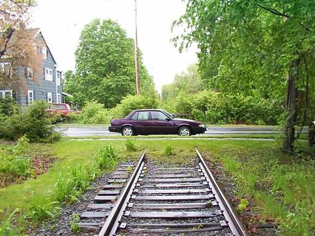 Danvers - Yes, that is Jeffey Joe Decaprio's car, just waiting for a train to come along and run it over.